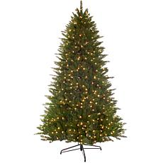 Puleo 7.5 ft. Premier Miracle Shape Hamilton Spruce Tree w/800 Lights