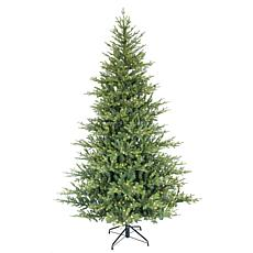 Puleo International 9' Pre-Lit Alberta Spruce Christmas Tree