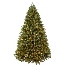 Puleo Intl. Pre-Lit 7.5' Middleburry Spruce Artificial Christmas Tree
