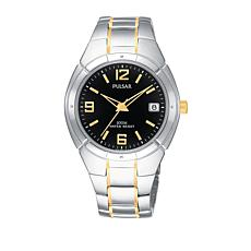 Pulsar Men's Analog 2-Tone Stainless Steel Bracelet Watch