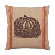Pumpkin Feed Sack Pillow