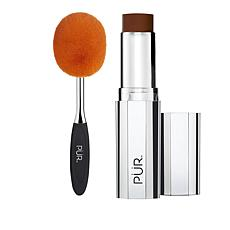 PUR 4-in-1 Light Espresso Foundation Stick with Brush