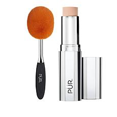 PUR 4-in-1 Light Porcelain Foundation Stick with Brush