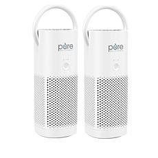 PureEnrichment PureZone Recharging Portable True HEPA Air Purifier 2pk