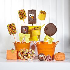 Rae Lou's Edible Art 12-piece Thanksgiving Treat Box