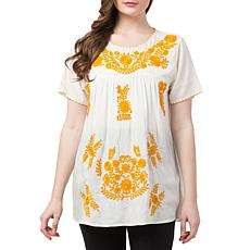 Raj Alina Embroidered Blouse