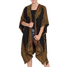 Raj Hena Embroidered Kimono