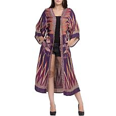Raj Kartek Thickstitch Embroidered Duster