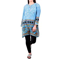 Raj Klara Embroidered Tunic