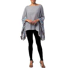 Raj Phyllis Embroidered Cape