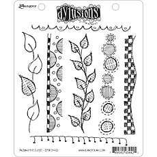 Ranger Dyan Reaveley Rubber Stamp Set - Around The Edge