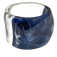 Rara Avis by Iris Apfel Blue Ombré Resin Bangle Bracelet