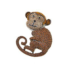 Rara Avis by Iris Apfel Monkey Brooch