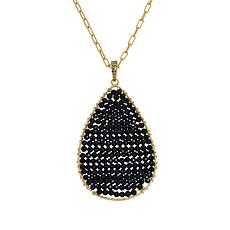 Rarities Faceted Gem and Diamond-Accented Pendant Necklace