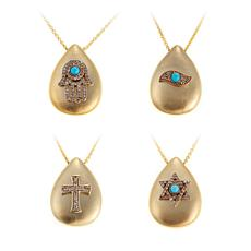 """Rarities Gold-Plated 18"""" Necklace - Choice of Talisman"""