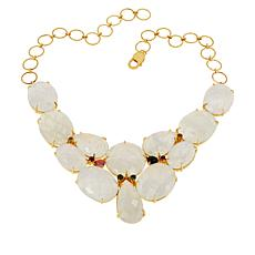 Rarities Round, Pear and Oval-Cut Gemstone Y-Drop Necklace