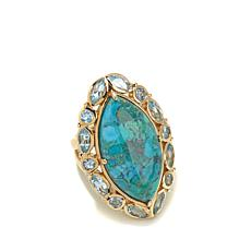 Rarities Turquoise and Gemstone Ring