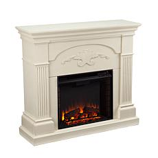 Ravenna Electric Fireplace - Ivory