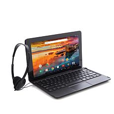 """RCA 11.6"""" HD 32GB Quad-Core Android Tablet w/Keyboard and Headphones"""