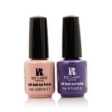 Red Carpet Manicure LED Gel Polish Sunset and Creme Duo