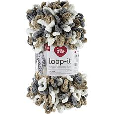 Red Heart Loop-It 200gr - Mix Taupe