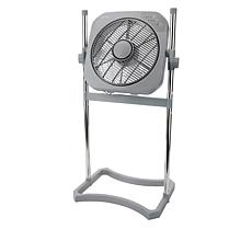 "RevitaAir 12"" Swirl Cool Tabletop and Stand Fan"