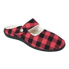 Revitalign Oceanside Buffalo Check Slipper