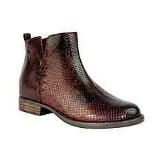 Revitalign Santiago Full Grain Textured Leather Boot