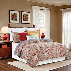 Rhapsody Paisley Full/Queen Quilt Set