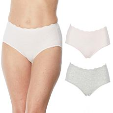 Rhonda Shear 2-pack Melange Brief