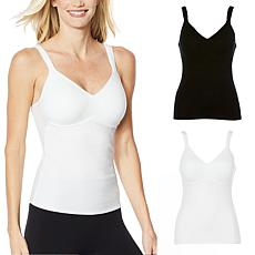 Rhonda Shear 2-pack Molded Cup Camisole