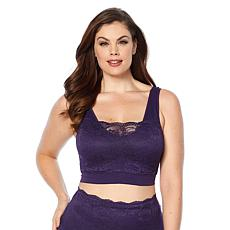 """Rhonda Shear 3-pack """"Ahh"""" Bra with Lace Overlay and Removable Pads"""