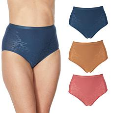 Rhonda Shear 3-pack Jacquard Ahh Brief