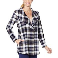 Rhonda Shear Fleece Wrap Jacket