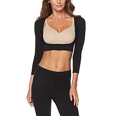 Rhonda Shear Seamless Long-Sleeve Arm Smoother