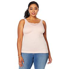 Rhonda Shear Seamless Shaping Tank with Shelf Bra