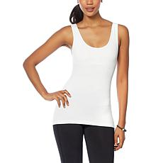 Rhonda Shear Seamless Tank with Shelf Bra 2-pack