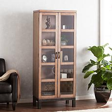 Rhyan Curio Storage Display Cabinet