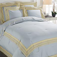 Richard Mishaan Cotton Lace 6pc Comforter Set