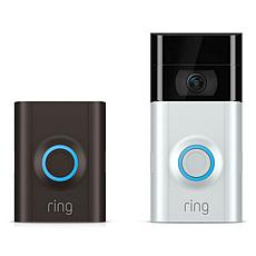 Ring Video Doorbell 2 HD Security with 2-Way Talk and 3-Year Warranty