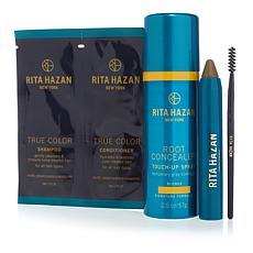 Rita Hazan Blonde Root Concealer Spray and Stick Set