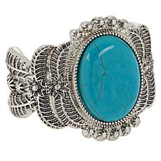 R.J. Graziano Simulated Turquoise Western Cuff