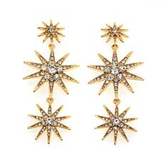 "R.J. Graziano ""Sky Lights"" Crystal Drop Earrings"