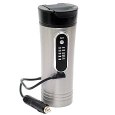 RoadPro 12-Volt 15-ounce Premium Heated Travel Mug