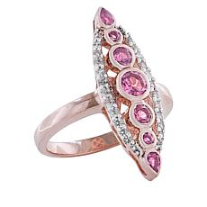 "Robert Manse ""Gem RoManse"" Multi-Gemstone Marquise Ring"