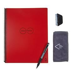 Rocketbook Everlast Letter Notebook Bundle with Pilot FriXion Pen