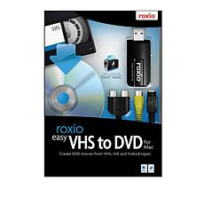 Roxio VHS to DVD Digital Transfer for Mac