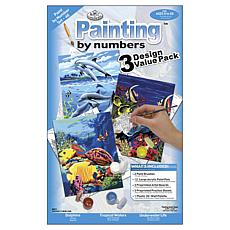 Royal Langnikel Junior Small Paint By Number Kit  - Sea Life