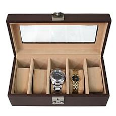 Royce Leather 5 Watch Box