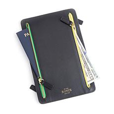 Royce Leather RFID Four-Zipper Travel Case